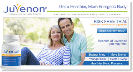 Try Juvenon Risk-Free